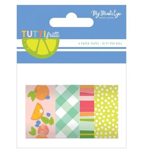 Set de washi tapes Tutti Frutti