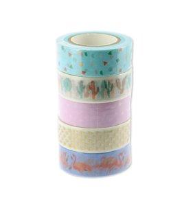 Washi Tapes Set Tropic Spring 2
