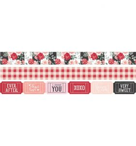 Set de Washi Tapes Kissing Booth