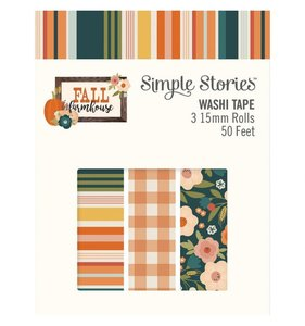 Set de washi tapes Fall Farmhouse