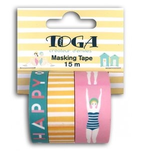 Set de Washi Tapes Bañistas